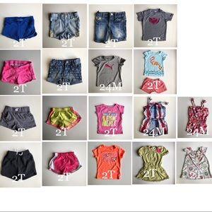 24M/2T Girls Clothing Bundle